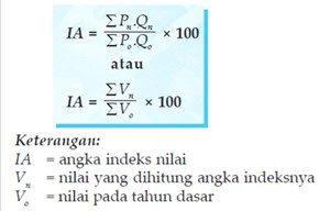 Angka indeks nilai (value V)