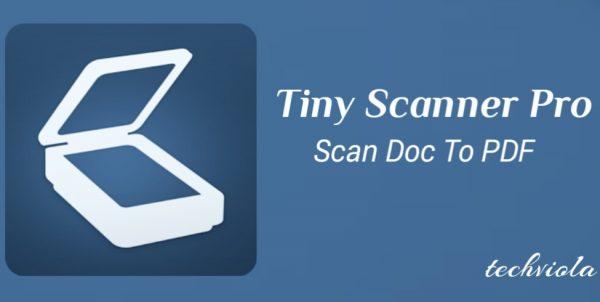 Aplikasi Tiny Scanner