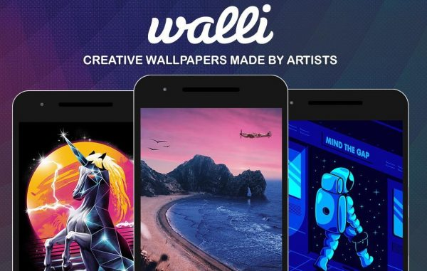 Aplikasi Walli- HD Wallpapers & Backgrounds