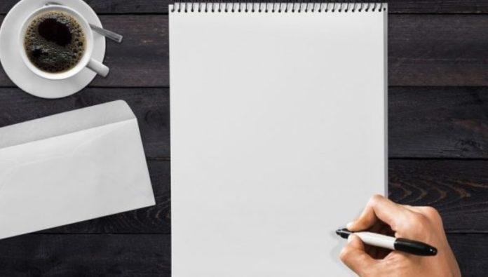 Cara Menulis Surat