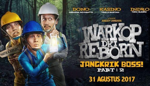 Film Warkop DKI Reborn: Jangkrik Boss! Part II