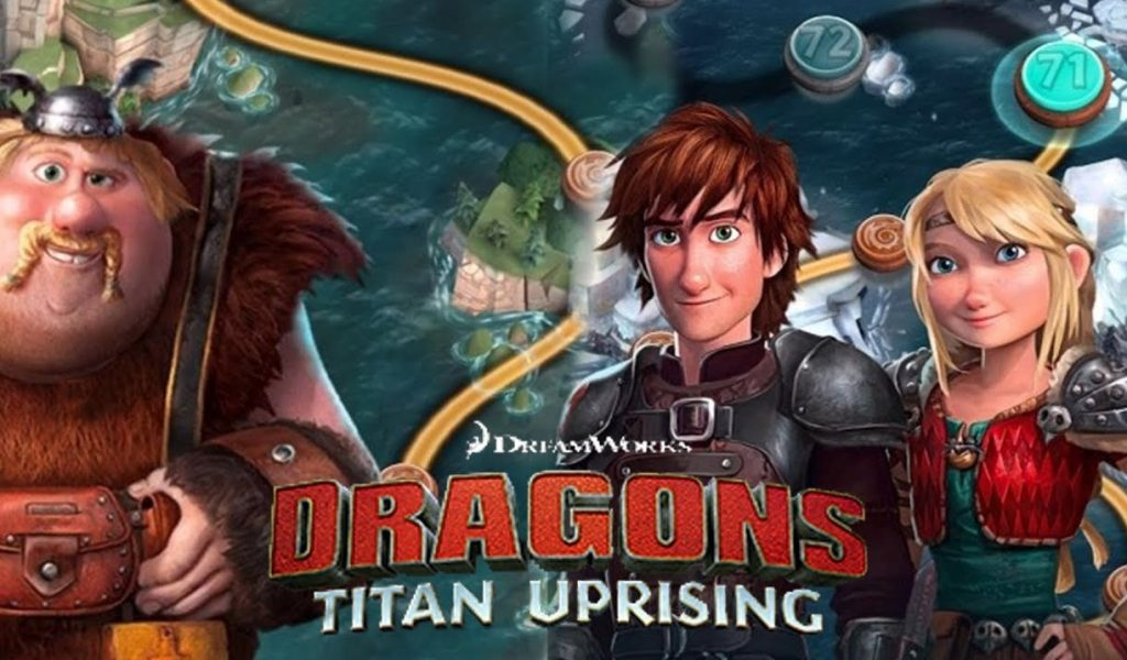 Game Dragons: Titan Uprising