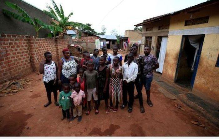 Diklaim Sebagai Wanita Tersubur, Diusia 36 Tahun Mariam Sudah Melahirkan 44 Anak