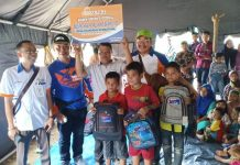 Bank Sumut Serahkan Bantuan Kepada Korban Banjir Bandang di Labura
