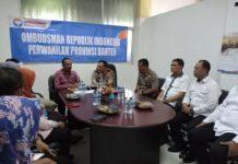 Kapolda Banten Kunjungi Ombudsman Provinsi Banten