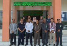 Ombudsman Banten Bertemu Ketua Pengadilan Tinggi Banten