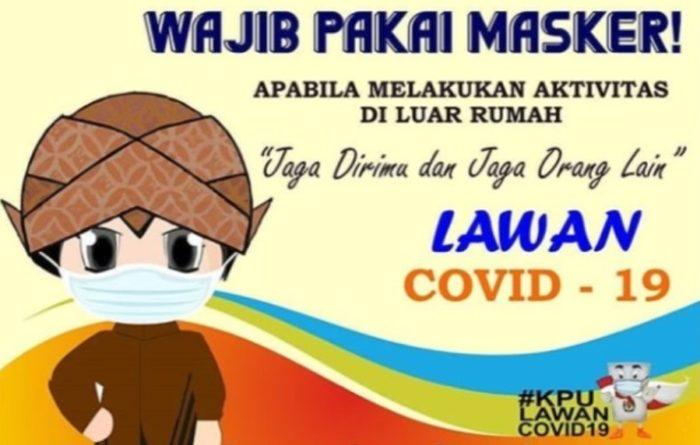 Contoh Poster Protokol Kesehatan di Sekolah